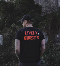 "Load image into Gallery viewer, Lively Ghosts ""Ghostie"" Unisex Logo Tee"