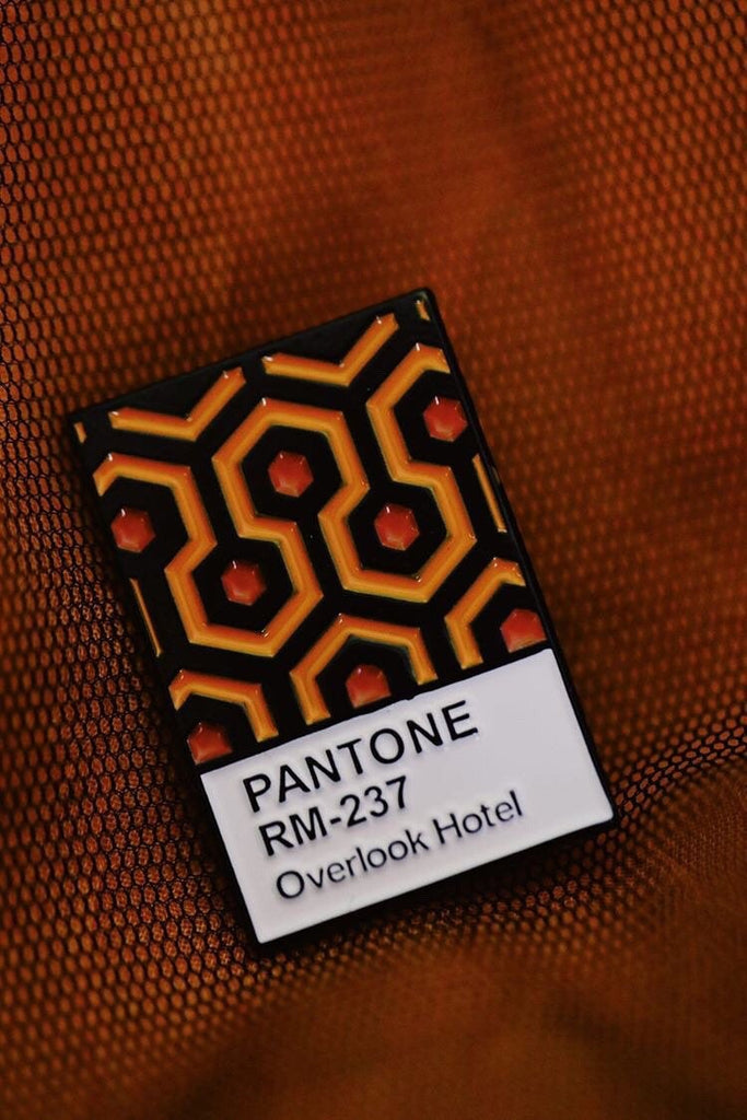 The Shining Carpet Pantone Inspired Enamel Pin