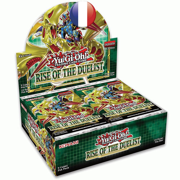 Boite de 24 Boosters L'Ascension du Duelliste Yu-Gi-Oh!