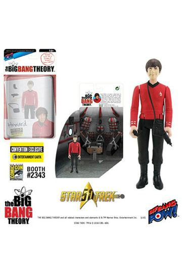 The Big Bang Theory figurine avec diorama Howard TOS EE Exclusive 10 cm