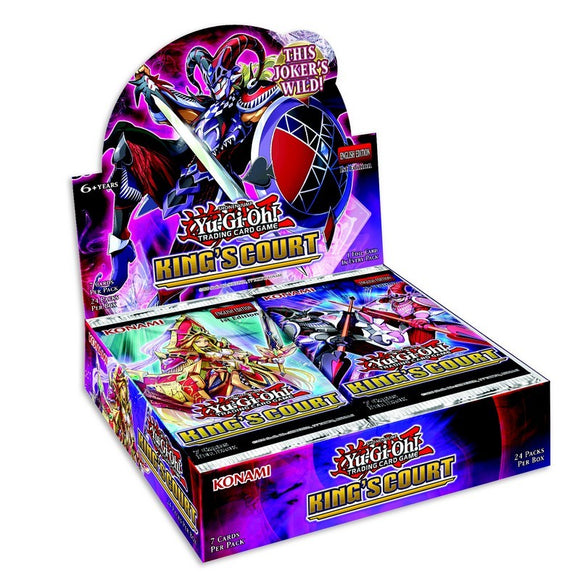 YU-GI-OH! précommande - Booster King's Court x24 FR (24/06/21)