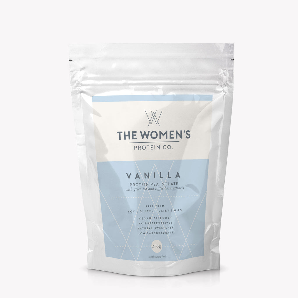 Vanilla Protein- no label!!