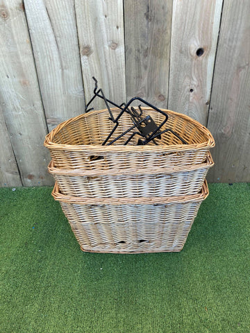 Wholesale Job Lot- Shopper Bike Basket x 3