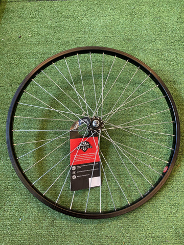 "Single Wheel- Raleigh Unbranded 24"" Front Bolt Wheel- Grade A"