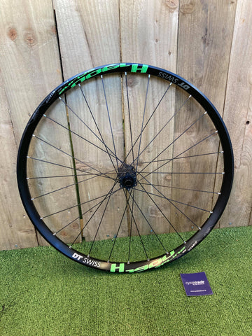 "DT Swiss H 1900 Spline Rear Wheel 27.5"" Disc 6-Bolt 148/12mm Thru-Axle"