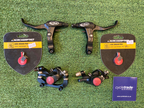 AVID DISC BRAKE AND LEVER SET - GRADE C