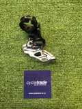 Front Mech- Shimano Deore XT FD-M786 10-Speed Double Front Derailleur - Clamp on - Dual Pull-Grade C