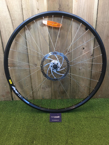 700c Disc Single Wheel- Deore XT Hub with Mavic M319 Rims- Grade B+