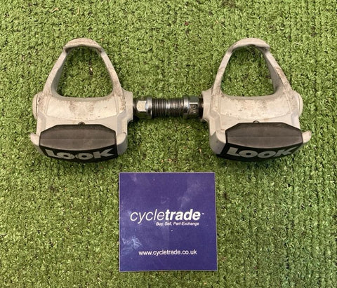 Clipless Pedals - Look Arc Clipless Pedals - Grey - Grade C
