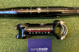 Drop Handlebar & Stem - Saturae Road 42cm, 100m Stem - Grade B