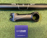 Gravel Drop Handlebar & Stem - Giant Connect XR 44cm Flared, 100mm Stem - Grade B+