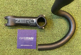 Drop Handlebar & Stem - Deda Zero 1 Road 44cm 100mm Stem - Grade B