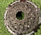 NEW - 7 Speed Set - 12-32T Cassette and Chain - Shimano/Sunrace