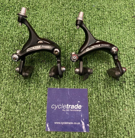 Brake Calipers - Campagnolo Mirage Road Bike Rim Brakes - Grade B
