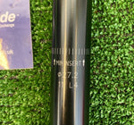 Seatpost - Alpina 27.2mm 290mm Layback Black - Grade B+
