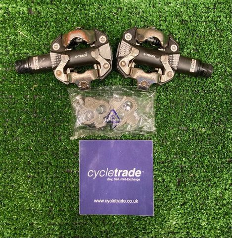Clipless MTB Pedals & Cleats - Look X-Track 2-Bolt - Grade B-
