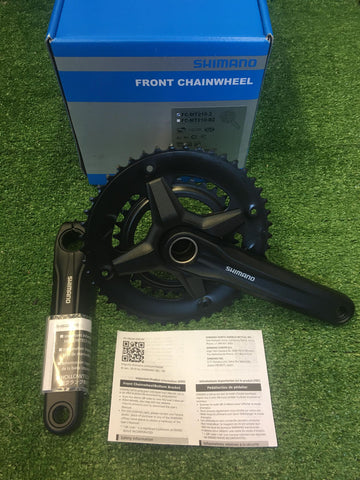 NEW Crankset- Shimano FC-MT210-2- 9 Speed, 46-30T,175mm-Grade A+