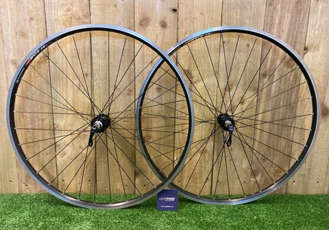 Road Wheelset - Alex Rims Ace-19 700c Shimano 8/9/10 - Grade B+