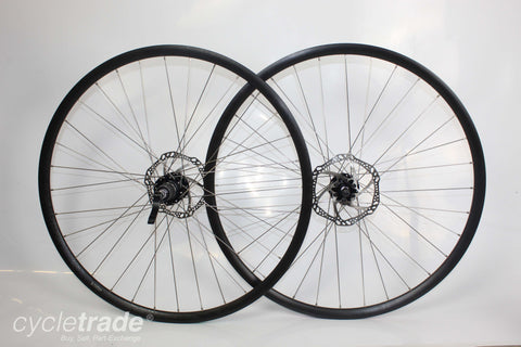 Road Disc Wheelset - 700c Alexrims 10 Speed Disc QR - Grade A-