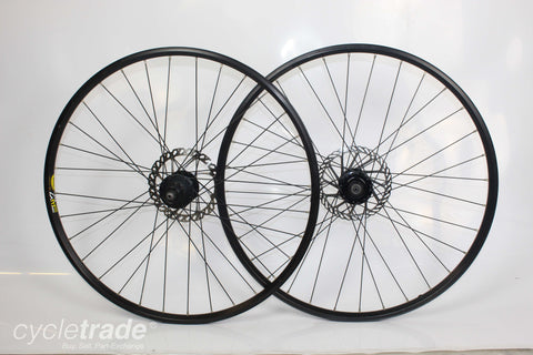 "MTB Disc Wheelset - Mavic/Shimano Unmatched 26"" 8/9/10 Speed - Grade C+"