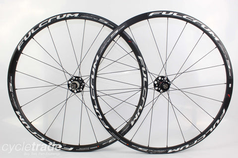 Road Disc Wheelset - Fulcrum Racing 5 DB Thru Axle 11 Speed - Grade B+