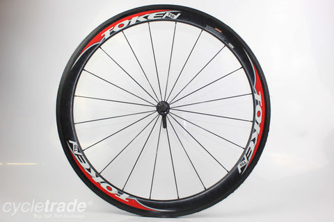 Road Front Wheel - Token T50 Carbon Tubular - Grade C
