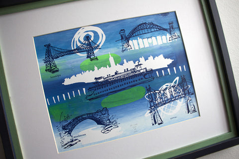 The Five Boroughs Screenprints