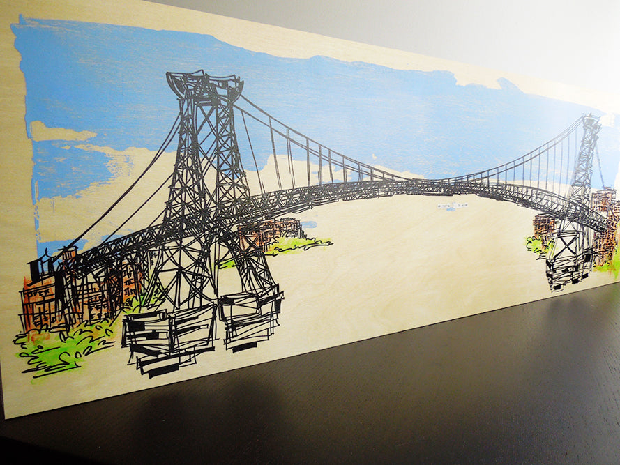 "Custom Artwork by Kathryn DiLego (12x36"")"