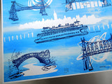 Five Boroughs #27 original handpulled screenprint by Kathryn DiLego