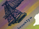 Five Boroughs #38 original handpulled screenprint by Kathryn DiLego
