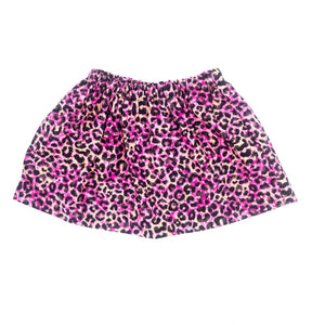 Pink Cheetah Skirt