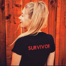 Load image into Gallery viewer, #BreakingCodeSilence Survivor Shirt (ADULT)