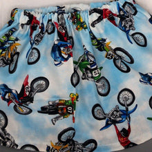 Load image into Gallery viewer, Dirt Bikes Take Flight Skirt