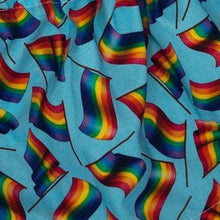 Load image into Gallery viewer, Just Be Yourself Pride Flags Skirt