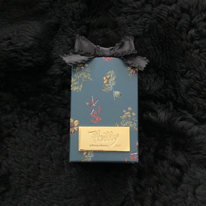 Botanical box (Navy)