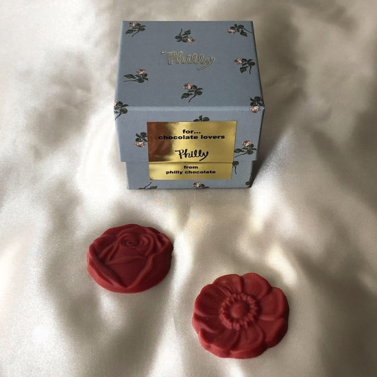 mini rose cube box(3色展開)