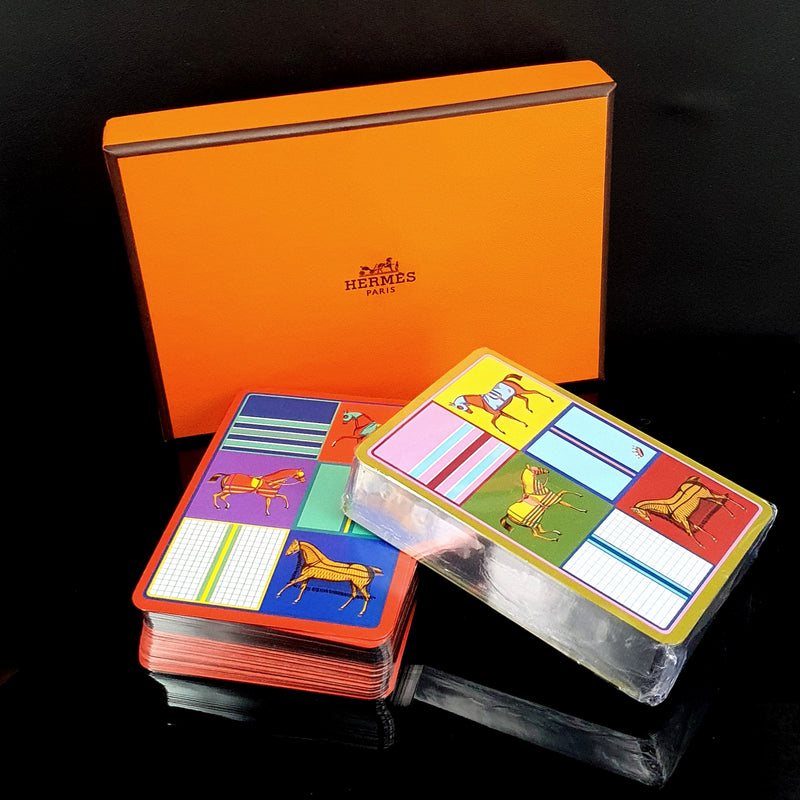Hermes Playing Cards - Montpellier Jewellers Harrogate