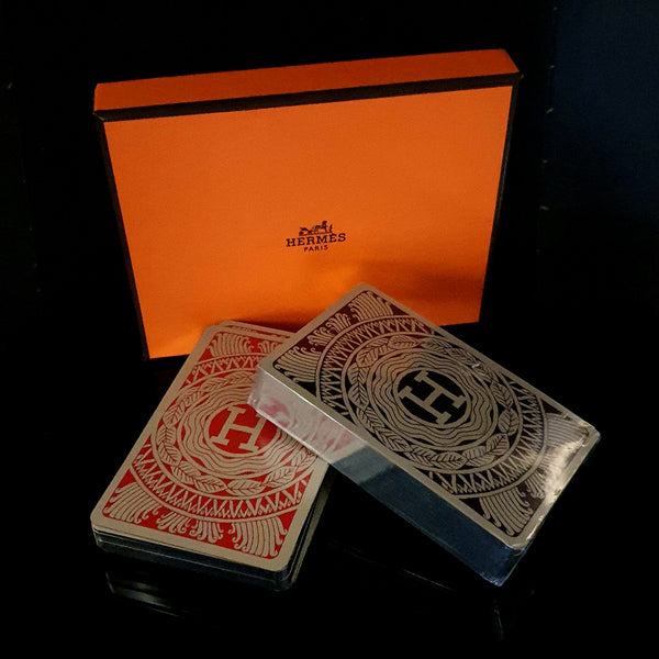 Hermes Bridge Playing Cards - Montpellier Jewellers Harrogate