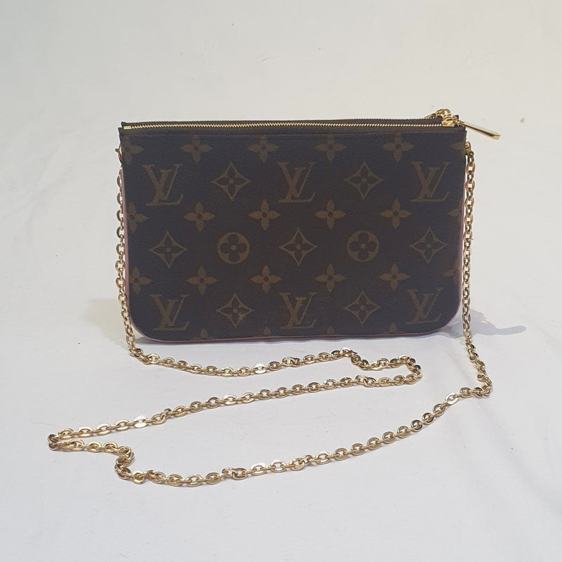 Louis Vuitton Double Zip Pochette Christmas 2020 Limited Edition