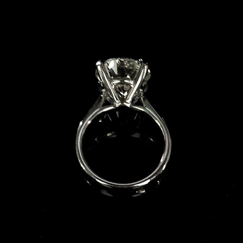 6.14ct Diamond Solitaire Ring