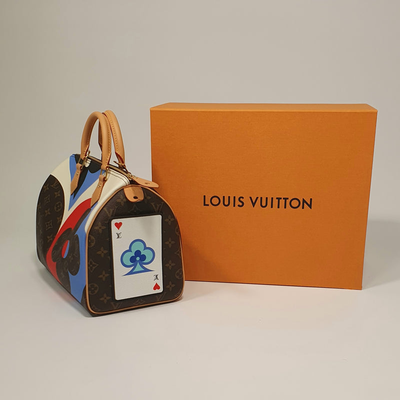 Louis Vuitton Game On Limited Edition Speedy Bandouliere 30