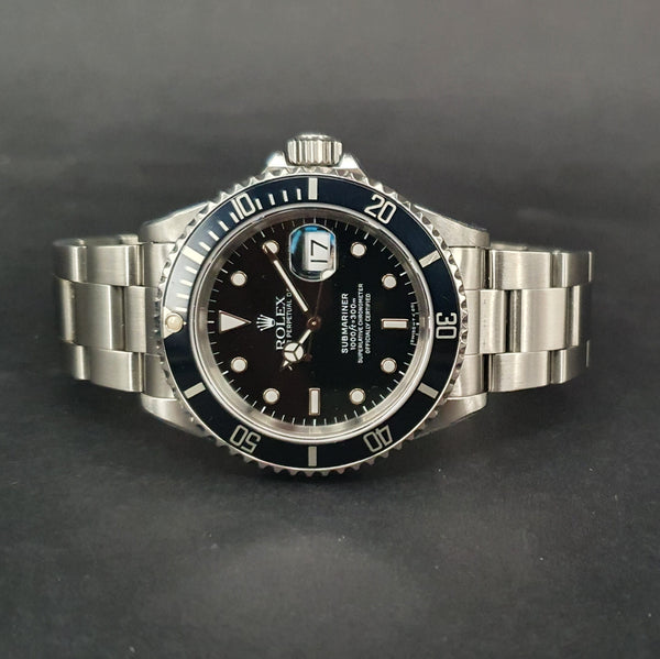 1991 Rolex Steel Submariner Date 16610