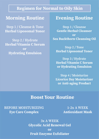 Normal to oily skin | Daily Routine
