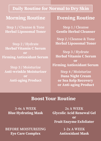 Normal to dry skin | Daily Routine