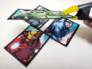 Marvel fabric iron on patches