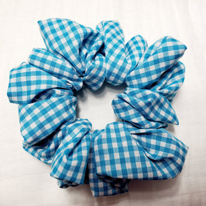 Gingham Turquoise