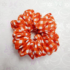 Big Gingham Orange