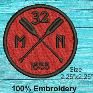 Minnesota Red Pride Patch