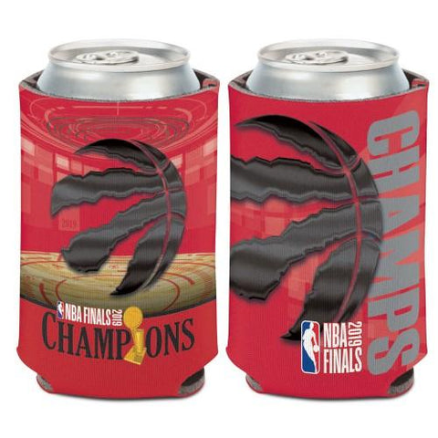 Toronto Raptors 2019  Finals Champions WinCraft Team Colors Drink Can Cooler