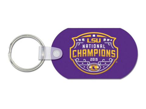 LSU Tigers 2019-2020 CFP National Champions WinCraft Aluminum Keychain - Sporting Up